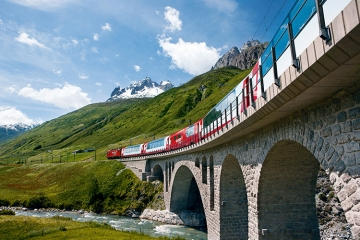 Glacier Express (cby Switzerland Tourism)