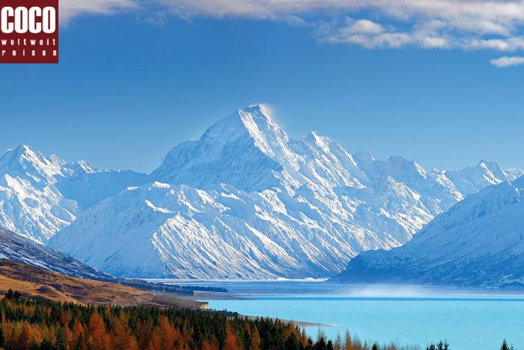 Mt. Cook & Lake Pukaki (©-AAT-Kings)